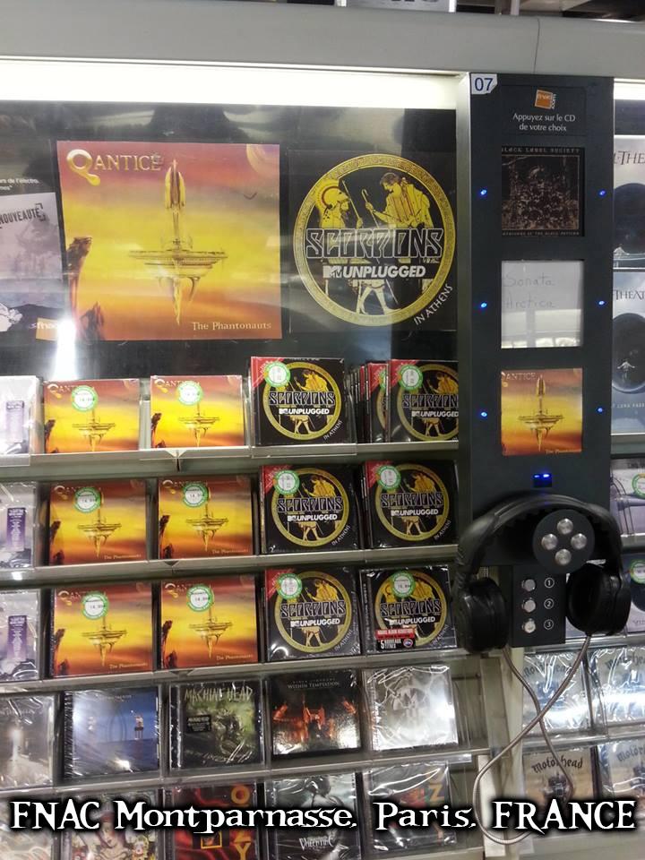 The Phantonauts - CD Release at FNAC Montparnasse, Paris, FRANCE