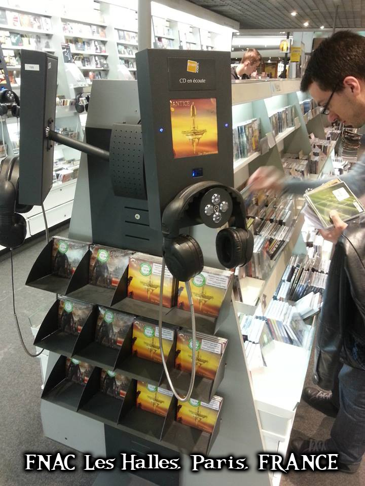 The Phantonauts - CD Release at FNAC Les Halles, Paris, FRANCE