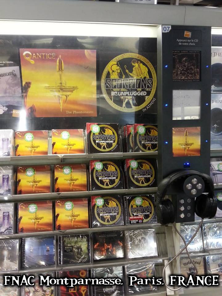 The Phantonauts - CD Release at FNAC Montparnasse, Paris, FRANCE